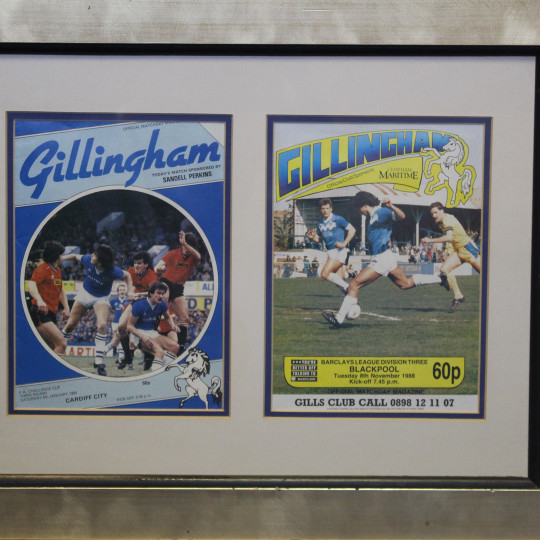 Framed Programmes Blackpool