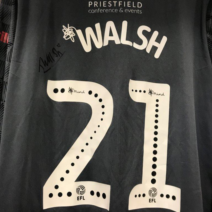Player Signed Shirt Walsh